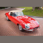 Fully restored, matching numbers,1964 Jaguar E Type 3.8 Liter Roadster  Chassis no. 878841 Engine no. R 9604-9