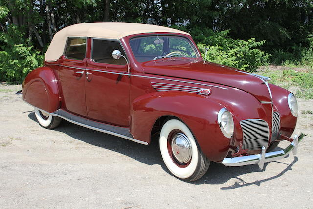 From the Beardslee Collection,1938 Lincoln 4-Door Convertible
