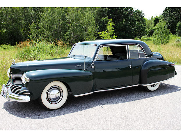 From the Beardslee Collection,1942 Lincoln Continental V-12 Coupe  Chassis no. 129794