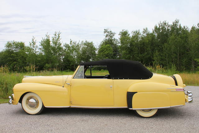 From the Beardslee Collection,1948 Lincoln Continental Cabriolet  Chassis no. 8H171796