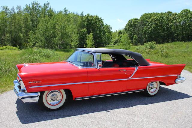 1957 Lincoln Premiere Convertible  Chassis no. 57WA20832L
