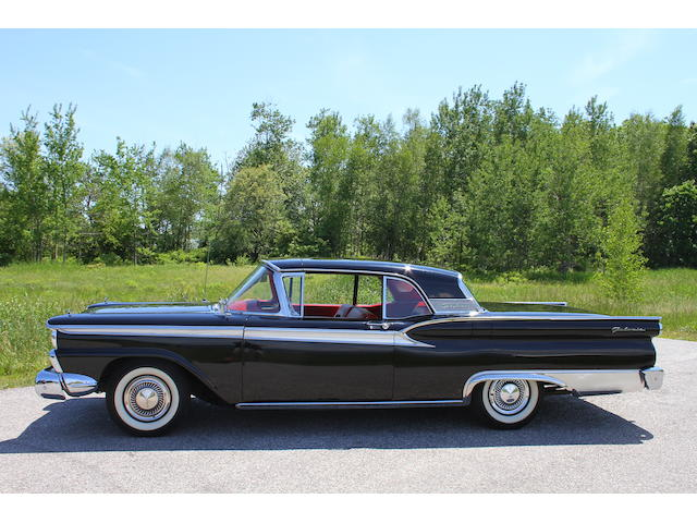 1959 Ford Skyliner Retractable Convertible Hardtop  Chassis no. B9EWL56620