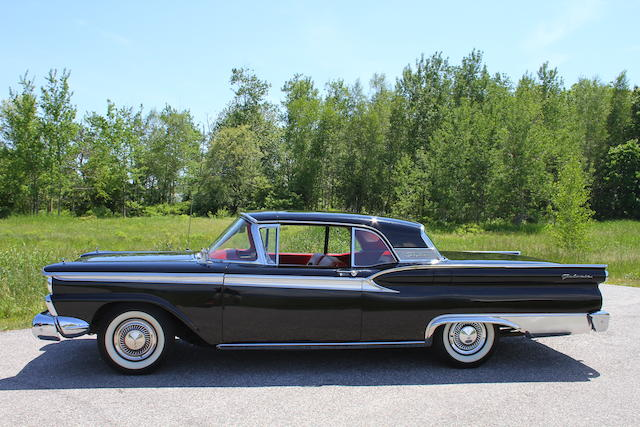 From the Beardslee Collection,1959 Ford Skyliner Retractable Hardtop Convertible  Chassis no. B9EWL56620