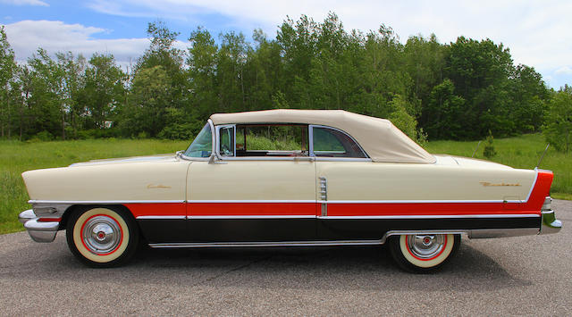 From the Beardslee Collection,1956 Packard Caribbean Convertible  Chassis no. 5699-1229