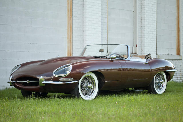 Single long term ownership, 28,000 miles from new and completely documented,1964 Jaguar E Type Series I 3.8 Liter Roadster  Chassis no. 880249 Engine no. RA 3722-9