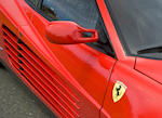 16,460kms from new, one former owner,1986 Ferrari Testarossa   Chassis no. ZFFTA17B000064545 Engine no. 00651