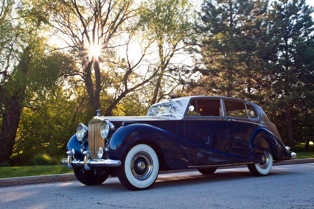 The ex-George Gordon Meade Easby, Three owners from new,1954 Rolls-Royce Silver Wraith Special Touring Limousine  Chassis no. LWVH114 Engine no. W113-H