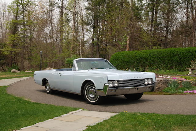 1966 Lincoln Continental Convertible  Chassis no. 6Y86G413859