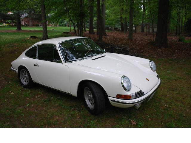 1965 Porsche 911 Coupe  Chassis no. 301763 Engine no. 901857