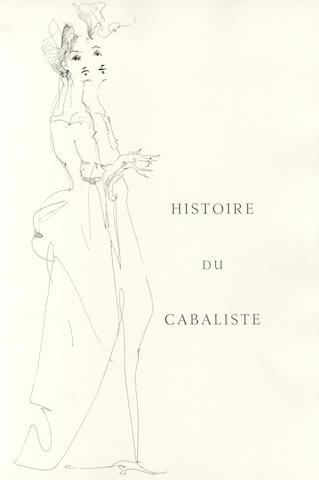 FINI, LEONOR, illustrator. POTOCKI, JEAN. Manuscrit trouvé à Saragosse. Paris: la Compagnie des Bibliophiles du Livre d'Art et de l'Amerique Latine, [1961].