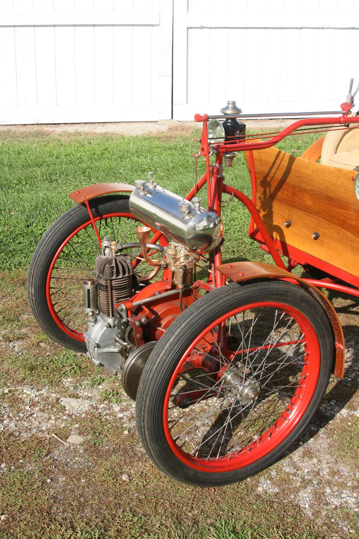 The ex-Henry Austin Clark Jr.,c.1900 Société Parisienne Victoria Combination  Engine no. 15494