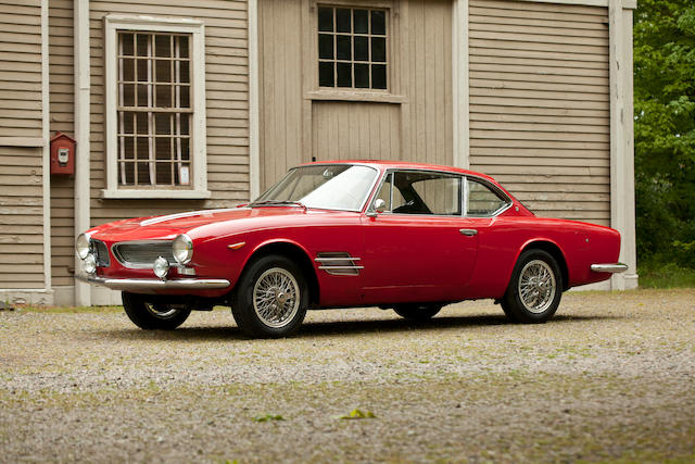1961 Moretti 2500 SS Coupe  Chassis no. 114BS112935