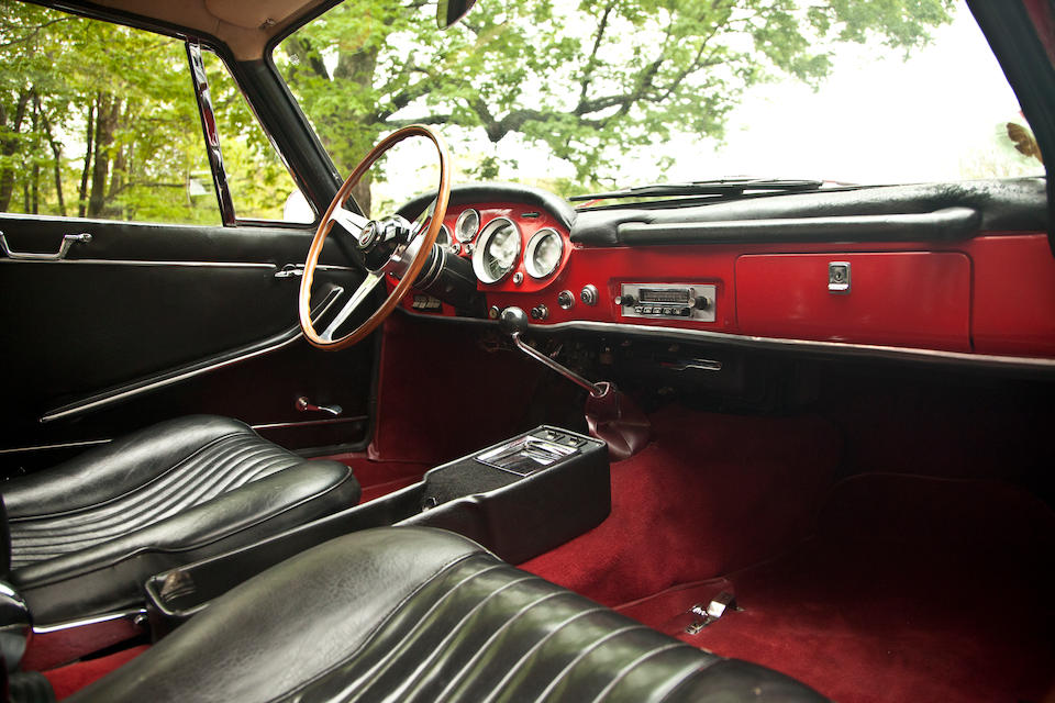 1962 Moretti 2500 SS Coupe  Chassis no. 114BS - 112935