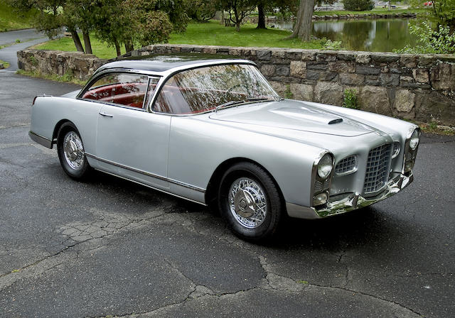 Rare manual transmission example, complete with factory luggage and tools,1956 Facel Vega FV2B Coupé  Chassis no. FV2B-56 106