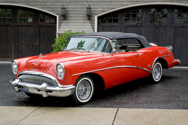 1954 Buick Skylark Convertible  Chassis no. 7A1057212