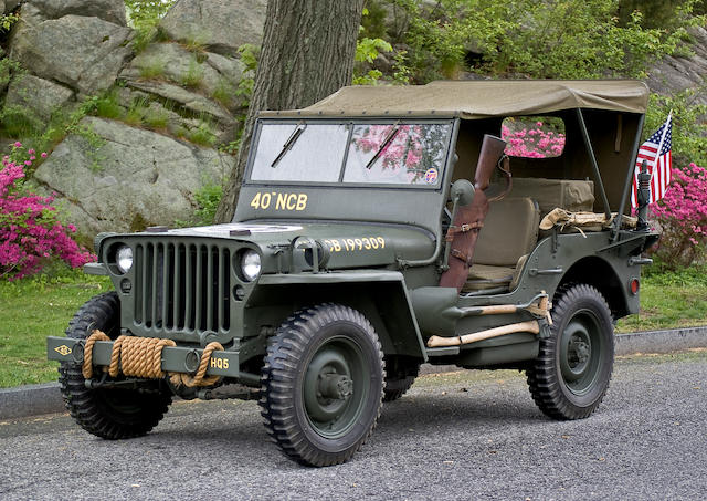1942 Ford GPW 'Jeep'  Chassis no. 37594