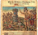 LE MOYNE'S FLORIDA. DE BRY, THEODOR. 1528-1598. Der Ander Theyl / der NewlicherfundenenLandtschafftAmericæ, Von dreyenSchiffahrten/ so die Frantzosen in Floridam (die gegen Niderganggelegen) gethan. Frankfurt: Theodor de Bry, 1591.<BR />