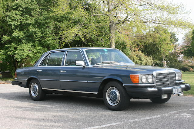 One owner from new, 42,000 miles,1975 Mercedes-Benz 450 SEL Sedan  Chassis no. 116033 12 035589