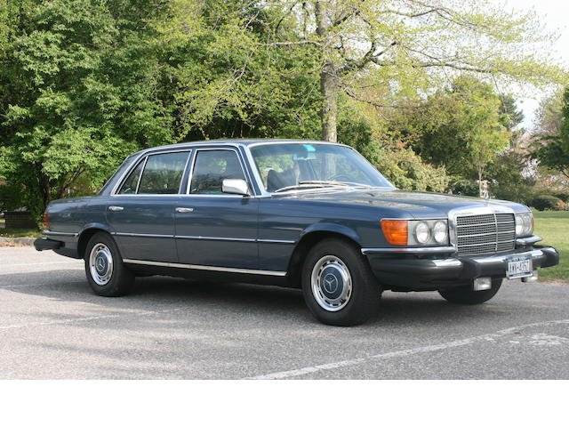 1975 Mercedes-Benz 450 SEL Sedan  Chassis no. 1603312035589
