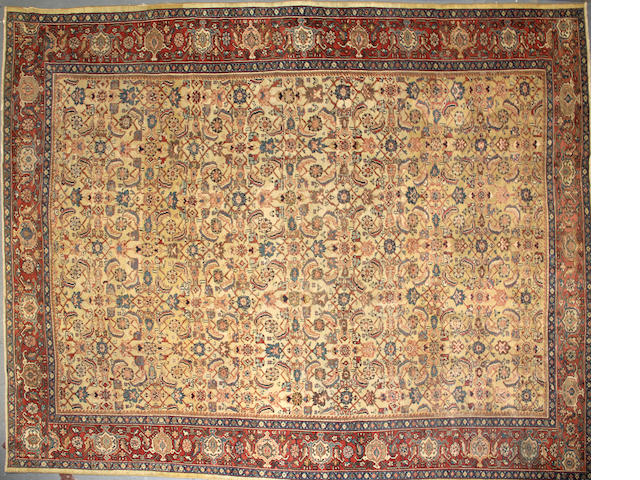 A Sultanabad carpet size approximately 10ft. x 13ft. 3in.