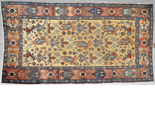 A Caucasian rug size approximately 3ft. 4in. x 5ft. 7in.