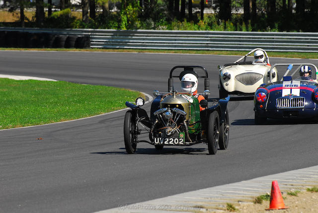 """Salote"" – The Roger Richmond Special,1926 Morgan/GN Four Wheeler Monoposto  Chassis no. LTOWS39283 – see text Engine no. 2A31312H6 – see text"