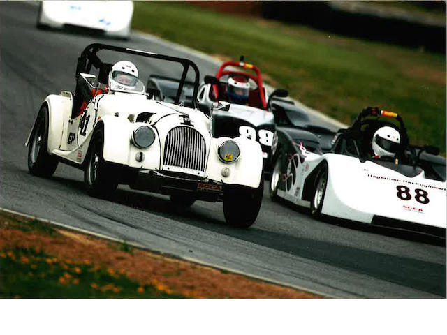 Ex-Peter Ecury, former FIA European Overall Historic GT winner, prepared to Lawrencetune specifications,1962 Morgan Plus 4 Two Seater  Chassis no. 5409 Engine no. TS2002E