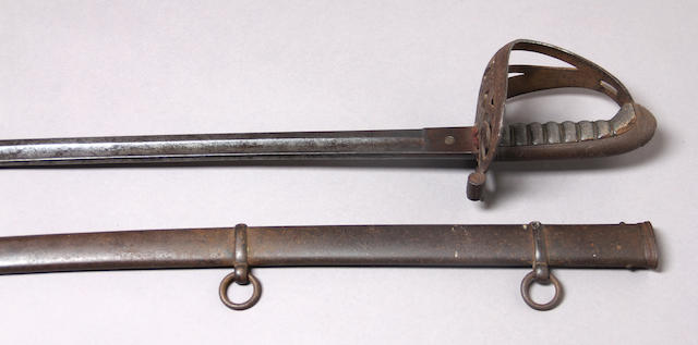 A Civil War era foot officer's sword by W. Walscheid for the American market