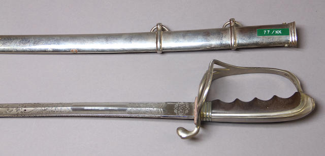 A presentation U.S. Model 1902 saber for all officers