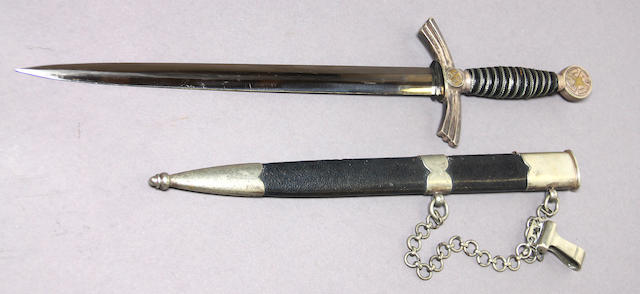 A German 1st Model Luftwaffe dagger by Weyersberg