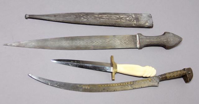 A lot of three daggers
