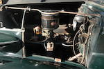 Originally purchased new by Mrs. Frances Crocker Sloane of W&J Sloane Furniture company fame, single family ownership from new ,1937 Buick 40-C Convertible Phaeton  Chassis no. 3154981 Engine no. 43333954