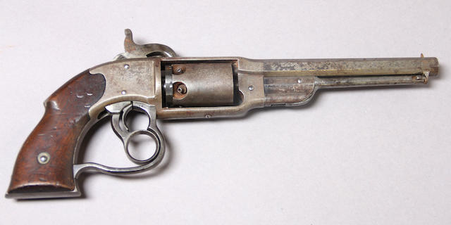 A U.S. Savage & North percussion navy revolver