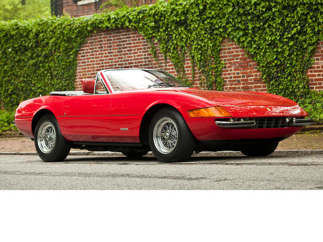 Originally supplied new through Garage Francorchamps, ex-Rod Stewart,1973 Ferrari 365 GTB/4 Daytona Spyder Conversion  Chassis no. 16639 Engine no. 16639