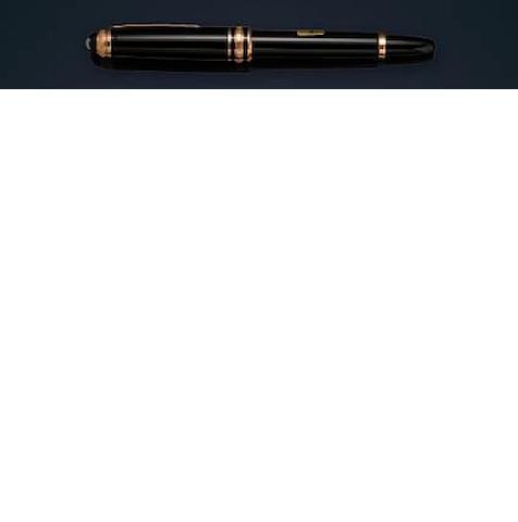 MONTBLANC: Meisterstück 114 Mozart Fountain Pen 1924 Anniversary Limited Edition