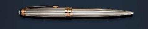 MONTBLANC: Meisterstück Solitaire Pinstripe 1924 Anniversary Limited Edition Ballpoint Pen