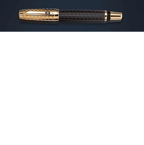 MONTBLANC: Boheme Doué Gold-Plated Guilloche Rollerball
