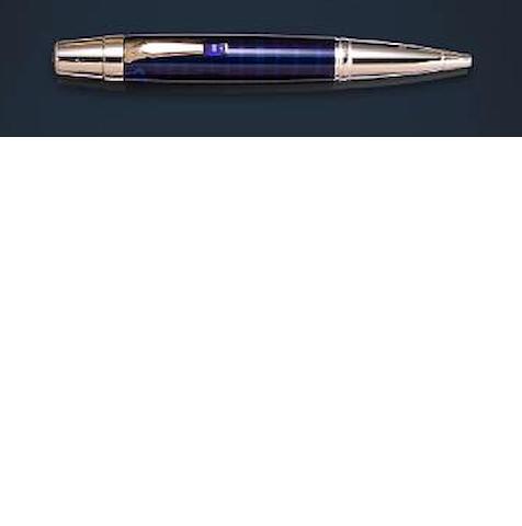 MONTBLANC: Boheme Doué Paseo Doble Blue Ballpoint Pen