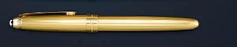 MONTBLANC: Meisterstück Classique 144 Vermeil Barley Fountain Pen