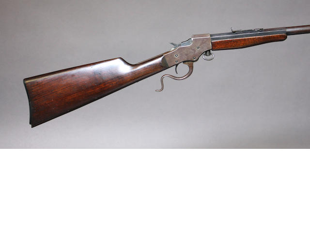 A Stevens Favorite single shot rifle