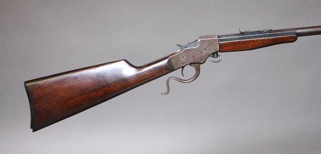 A Stevens Favorite single shot rifle