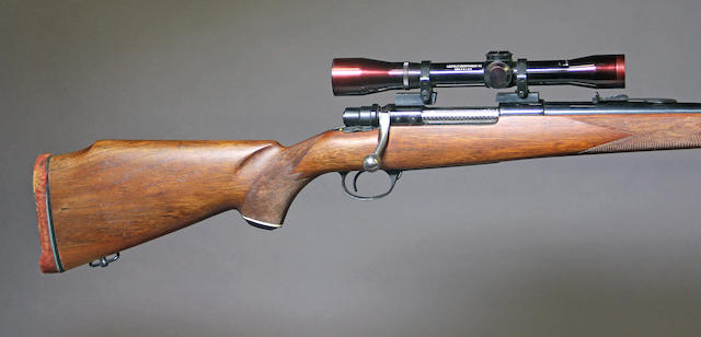 A .30-06 Springfield Husqvarna Series 3000 Crown bolt action sporting rifle