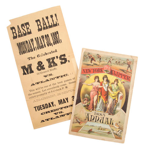 BASEBALL--19TH CENTURY.