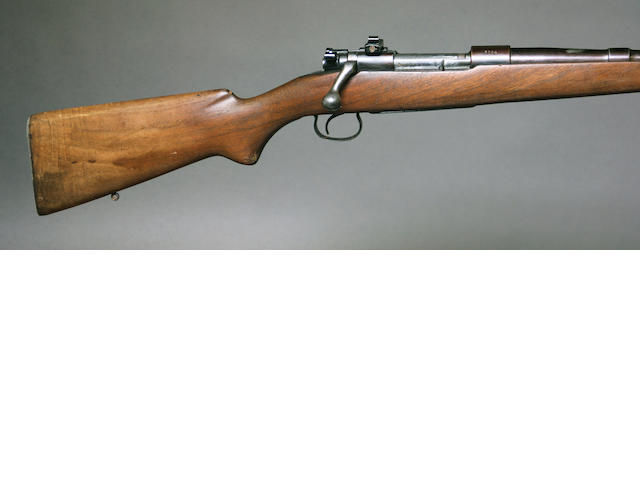 A .30-06 Winchester Model 54 bolt action sporting rifle