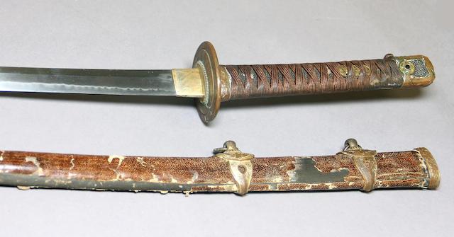 A Japanese Naval officer's kai-gunto