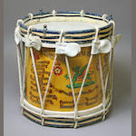 An East Kent Regiment side drum by Hawkes & Son