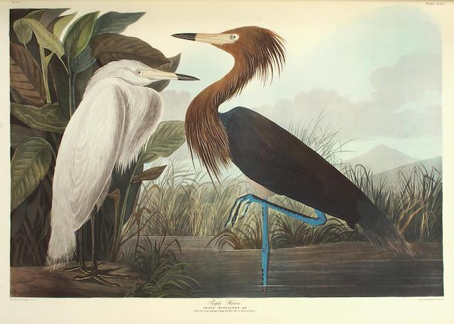 AUDUBON, JOHN JAMES. 1785-1851. The Birds of America: A Selection of Landscape Plates Facsimile Volume Two. London: Ariel Press/Minnesota: Voyageur Press, [1973].