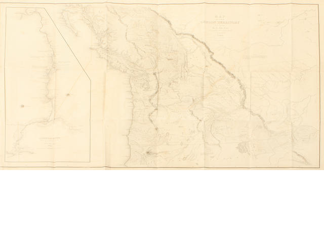 WILKES, CHARLES. 1798-1877. Atlas. Narrative of the United States Exploring Expedition. During the Years 1838, 1839 , 1840, 1841, 1842. Philadelphia: Lea & Blanchard, 1845.