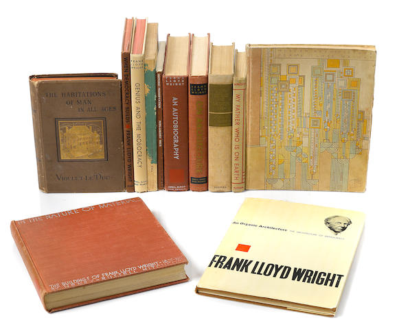 Archive of letters, documents, drawings by Wright and others, books and Taliesin offprints and circulars.
