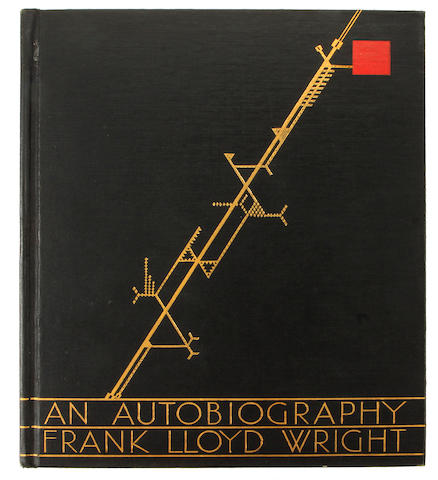 WRIGHT, FRANK LLOYD. 1867-1959. An Autobiography. London, New York, Toronto: Longmans, Green and Company, 1932.